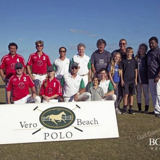 Game 1,Feb 8th, Winners BG Polo, Khalid Dasuki, Rachel Kelly, Bobby Genovese, Marcos Bignoli